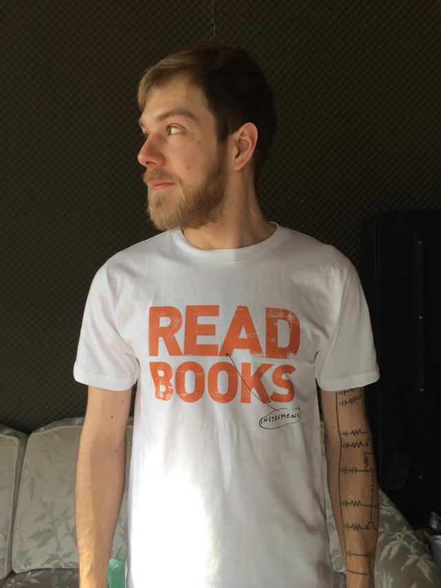 INSTRUMENT Shirt Read Books